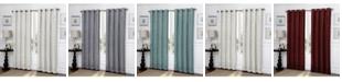 "Regal Home Ironwork Scroll Blackout Grommet Curtain, 84"" x 50"""