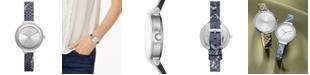 DKNY Women's Astoria Snake Print Bracelet Watch 32mm