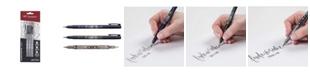 Tombow Fudenosuke Brush Pen, 3-Pack