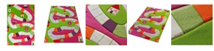 IVI Playway Pink Soft Nursery Rug  Playmat