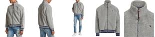 Polo Ralph Lauren Men's Vintage Sherpa Zip-Front Knit Sweatshirt