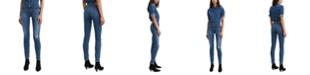 Levi's Women's Distressed Curvy-Fit Skinny Jeans