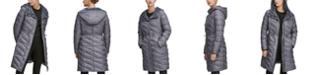 Andrew Marc Drawstring Hooded Puffer Coat
