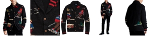 Polo Ralph Lauren Men's Skier Hand-Knit Wool Blend Cardigan