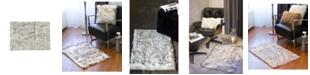 Luxe Faux Fur Hudson Rug 2' x 3'