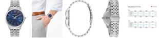 Bulova Men's Classic Stainless Steel Bracelet Watch 41mm