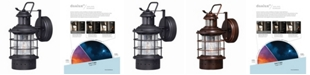 Vaxcel Hyannis Motion Sensor Coastal Wall Light Dusk to Dawn