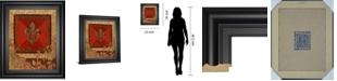 """Classy Art Fleur Adorn I by Tava Studio Framed Print Wall Art, 22"""" x 26"""""""