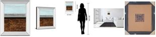 "Classy Art Textured Light II by Natalie Avondet Mirror Framed Print Wall Art, 22"" x 26"""