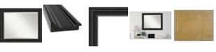 "Amanti Art Ridge Framed Bathroom Vanity Wall Mirror, 33.75"" x 27.75"""