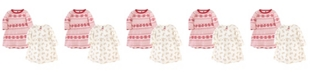 Hudson Baby Toddler Girl Long Sleeve Dress 2 Pack