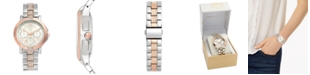 Charter Club Women's Two-Tone Bracelet Watch 37mm, Created For Macy's