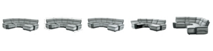 Homelegance Jareth 5pc Sectional Sofa