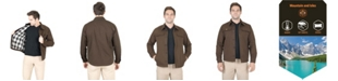Mountain And Isles Men's Cotton Shirt Jacket With Flannel Lining