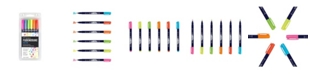 Tombow 56437 Fudenosuke Neon Brush Pen, 6-Pack