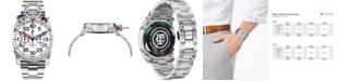 CT Scuderia Men's Swiss Corsa Chronograph Stainless Steel Bracelet Watch 44mm