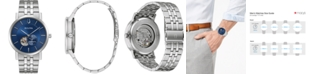Bulova Men's Automatic Clipper Stainless Steel Bracelet Watch 42mm