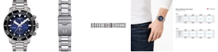 Tissot Men's Swiss Chronograph Seastar 1000 Gray Stainless Steel Bracelet Diver Watch 45.5mm