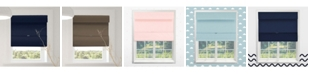 Chicology Cordless Magnetic Roman Shades, Room Darkening Fabric Window Blind