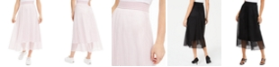 Alfani Mesh Midi Skirt, Created for Macy's