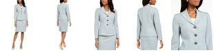 Le Suit Melange Skirt Suit