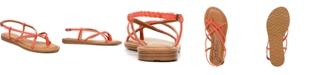 Zodiac Yovana Braided Strappy Flat Sandals
