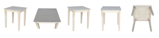 International Concepts Shaker End Table