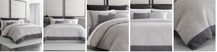 Vera Wang Grisaille Weave King Duvet Cover