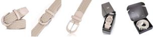 Mio Marino Mio Marion Men's Casual Braided Stretch Belt