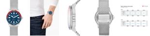Skagen Men's Fisk Stainless Steel Mesh Bracelet Watch 42mm