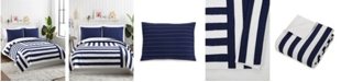 Makers Collective Block Stripe 3-Piece Full/Queen Quilt Set