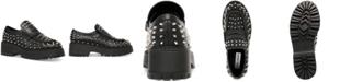 Steve Madden Women's Malvern Studded Lug Sole Loafers