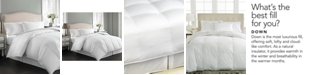 Charter Club  CLOSEOUT! Vail Level 3 European White Down Comforters, Medium Warmth Hypoallergenic UltraClean Down, Created for Macy's