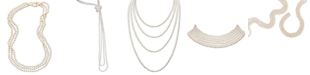 """Macy's 100"""" Cultured Freshwater Pearl Endless Strand Necklace (7-8mm)"""