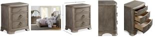 Furniture Kelly Ripa Home Hayley Bedroom 3 Drawer Nightstand
