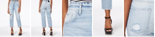 M1858 Frida Ripped Straight-Leg Jeans, Created for Macy's