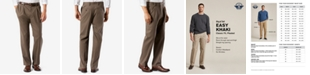 Dockers Men's Big & Tall Easy Classic Pleated Fit Khaki Stretch Pants
