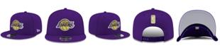 New Era Boys' Los Angeles Lakers Basic Link 9FIFTY Snapback Cap