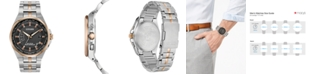 Citizen Eco-Drive Men's World Perpetual A-T Two-Tone Stainless Steel Bracelet Watch 42mm