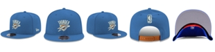 New Era Boys' Oklahoma City Thunder Basic Link 9FIFTY Snapback Cap