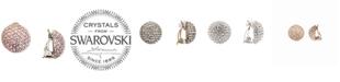 Nina Swarovski Pavé Dome Clip-on Earrings