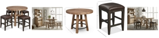 Furniture Brewing Collection, 5-Pc. Furniture Set (Gathering Round Table & 4 Lager Gathering Stools)