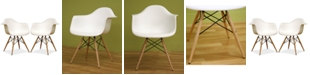Furniture Najia Shell Chair (Set of 2), Quick Ship