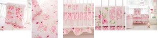 My Baby Sam Rosebud Lane 3pc Crib Bedding Set