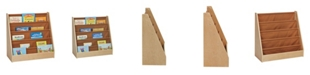 Clickhere2shop 1 - Sided Book Storage Fabric