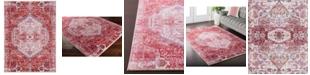 "Surya CLOSEOUT!  Germili GER-2307 Bright Pink 3'11"" x 5'7"" Area Rug"