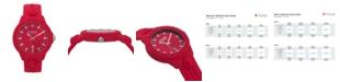 Versus by Versace Versus Unisex Tokyo Red Silicone Strap Watch 43mm