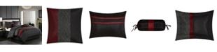 Nanshing Corell Black 7-Piece Full Comforter Set