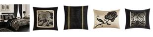 Nanshing Mollybee 7-Piece Comforter Set, Black, Queen