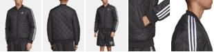 adidas Men's Originals Adicolor SST Quilted Bomber Jacket